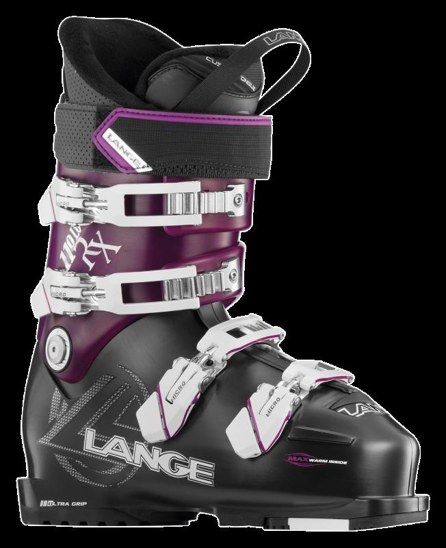 LANGE RX 110 LV W dámské sjezdové boty black purple