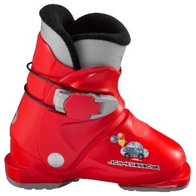 ROSSIGNOL R18 dětské sjezdové boty červené