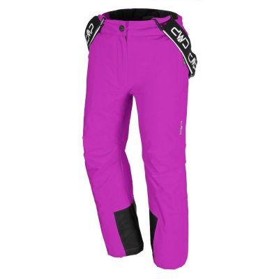 CMP dětské lyžařské kalhoty hot pink