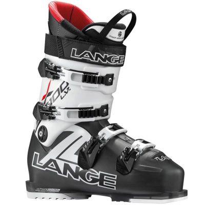 LANGE RX 100 L.V. sjezdové boty black trp. red
