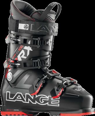 LANGE RX 100 L.V. sjezdové boty black red