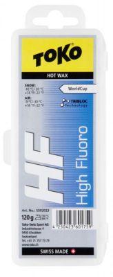 TOKO HF HOT WAX BLUE fluorový vosk 120 g