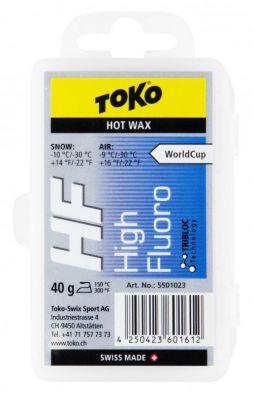 TOKO HF HOT WAX BLUE fluorový vosk 40 g