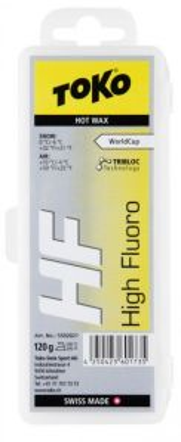TOKO HF HOT WAX YELLOW fluorový vosk 120 g
