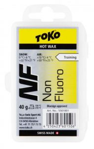TOKO NF HOT WAX YELLOW bezfluorový vosk 40 g