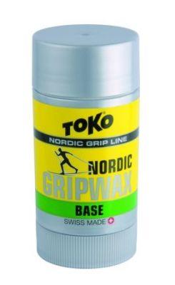 TOKO NORDIC GRIPWAX BASE GREEN vosk 27 g