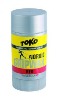TOKO NORDIC GRIPWAX RED vosk 27 g