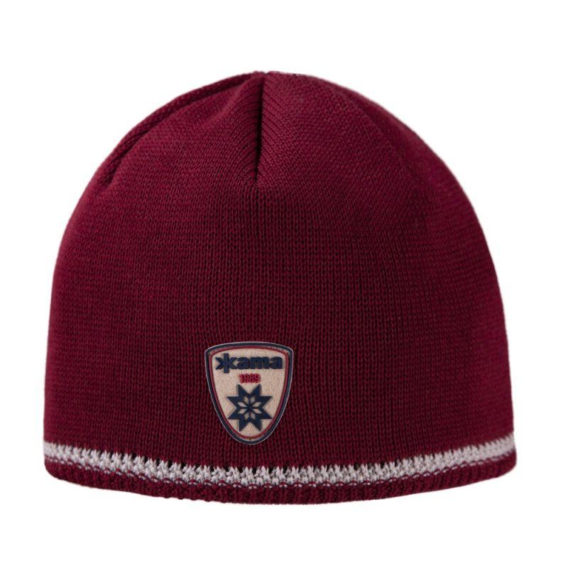 KAMA AW54-104 pletená čepice červená