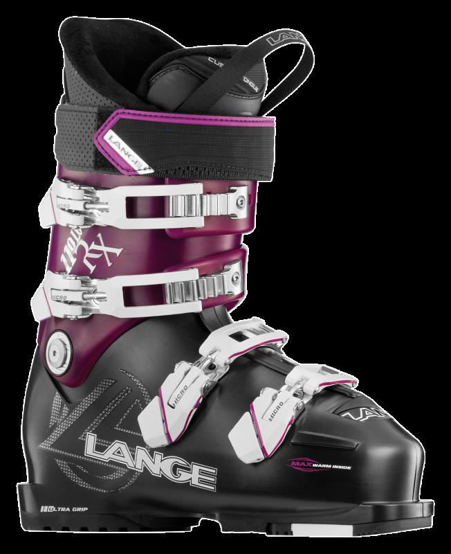 LANGE RX 110 W dámské sjezdové boty black purple 16/17