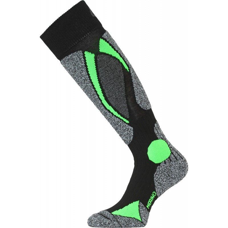 LASTING SWC lyžařské ponožky zelená
