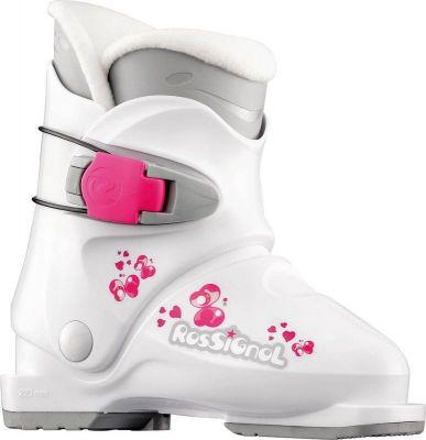 ROSSIGNOL R18 dětské sjezdové boty white