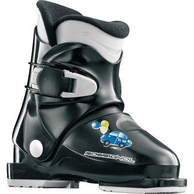 ROSSIGNOL R18 dětské sjezdové boty černé