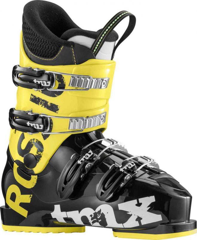 ROSSIGNOL TMX J4 dětské sjezdové boty black/yellow 17/18