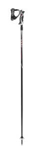 LEKI HOT SHOT S sjezdové hole black/anthracite-red