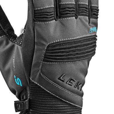 LEKI PROGRESSIVE PALLADIUM S lyžařské rukavice charcoal black 18/19