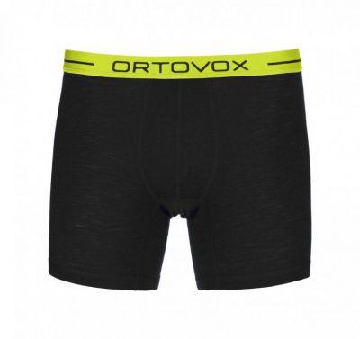ORTOVOX 105 ULTRA BOXER M pánské boxerky black raven