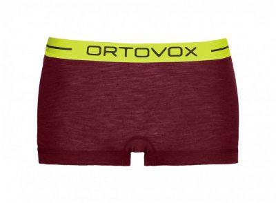 ORTOVOX 105 ULTRA HOT PANTS W dámské boxerky dark blood