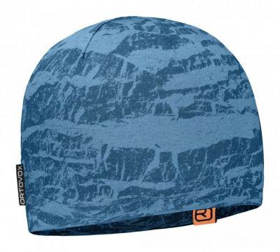 ORTOVOX 120 TEC BEANIE čepice blue sea