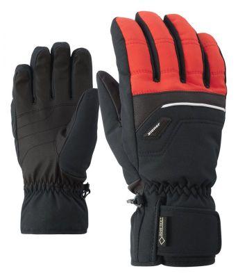 ZIENER GLYN GTX prstové rukavice red