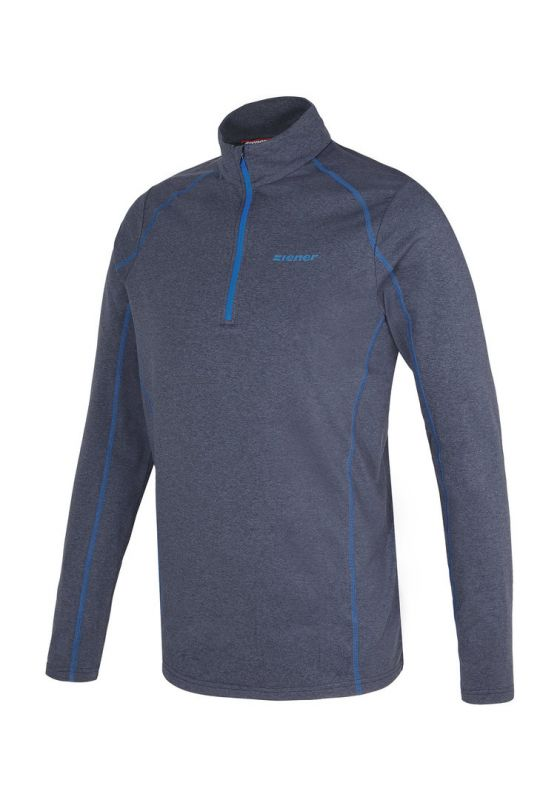 ZIENER JOCHEL pánské tričko blue navy melange