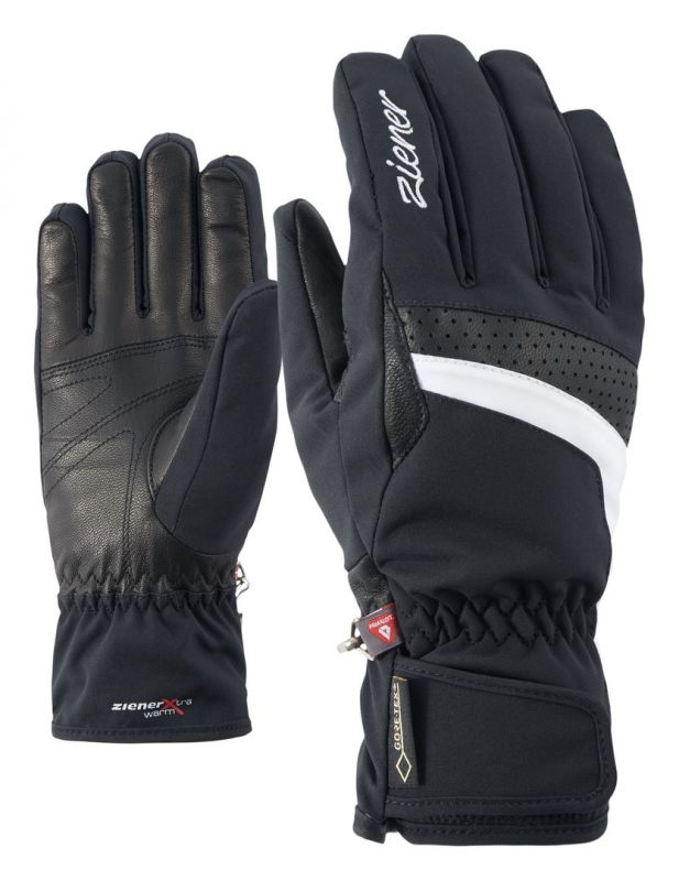 ZIENER KATARA GTX dámské prstové rukavice black white