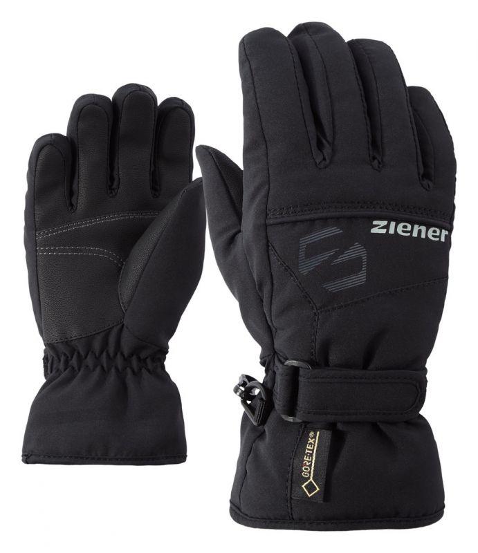 ZIENER LABER GTX JUNIOR dětské prstové rukavice black