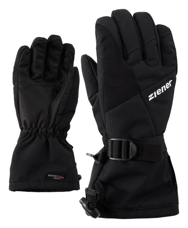 ZIENER LANI GTX JUNIOR dětské prstové rukavice black