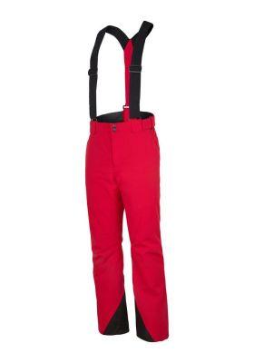 ZIENER TELMO pánské lyžařské kalhoty red pop