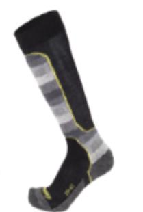 EISBÄR SKI TECH LIGHT MEN DX+SX lyžařské ponožky black Eisbär