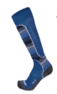 EISBÄR SKI TECH LIGHT MEN DX+SX lyžařské ponožky blue Eisbär