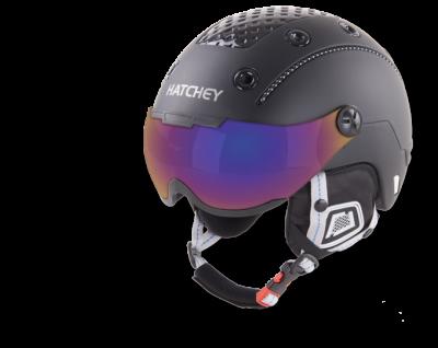HATCHEY RIVAL VISOR sjezdová helma black 18/19
