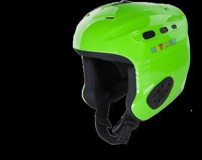 HATCHEY SWANIC KIDS sjezdová helma green 18/19
