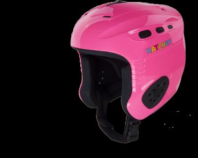 HATCHEY SWANIC KIDS sjezdová helma pink 18/19