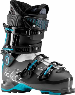 K2 B.F.C. 90 W HEAT dámské vyhřívané sjezdové boty black/blue/white