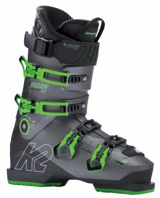 K2 RECON 120 HEAT MV pánské vyhřívané sjezdové boty grey/green 18/19