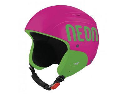 NEON WILD KIDS dětská lyžařská helma pink/green fluo 18/19