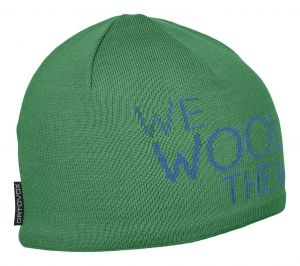 ORTOVOX WE WOOL THE WORLD BEANIE čepice irish green