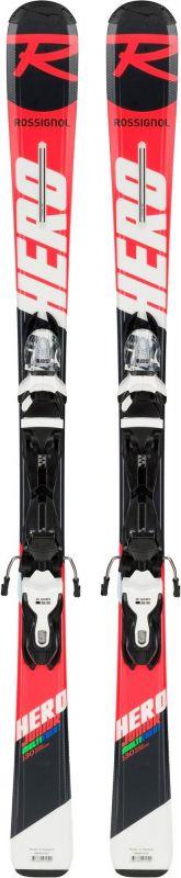 ROSSIGNOL HERO JR + vázání Xpress Jr 7 B83 bk/wht dětské sjezdové lyže set 18/19