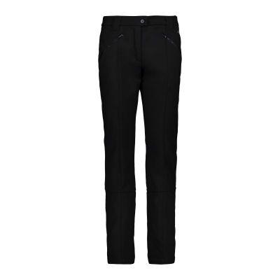 CMP dámské kalhoty softshell nero