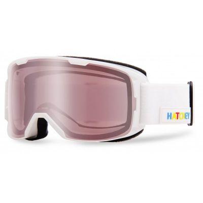 HATCHEY CRUEL sjezdové brýle white