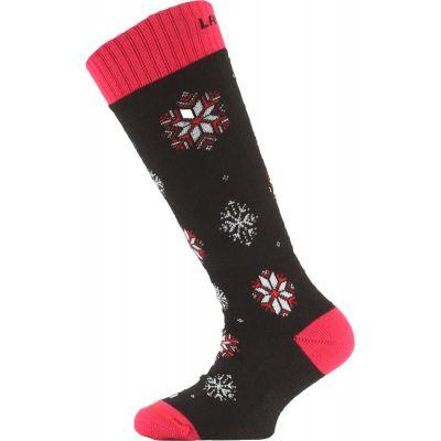 LASTING SJA dětské ponožky růžová
