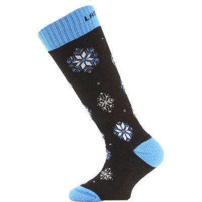 LASTING SJA dětské ponožky modrá
