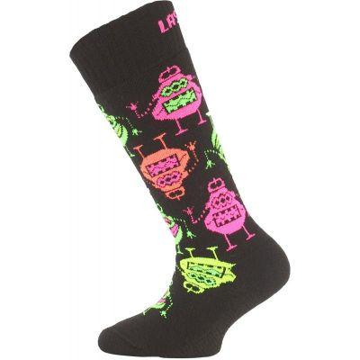 LASTING SJE dětské ponožky růžová