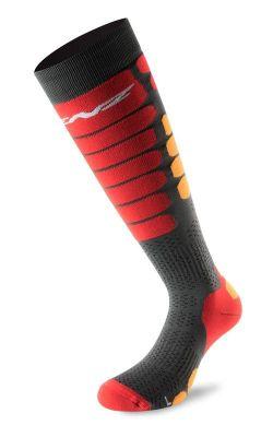 LENZ SKIING 5.0 lyžařské ponožky black/grey 19/20