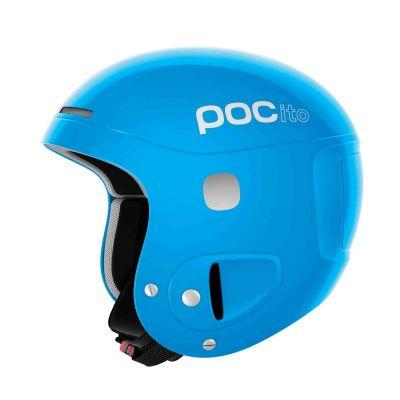 POC POCito SKULL dětská lyžařská helma fluorescent blue 19/20