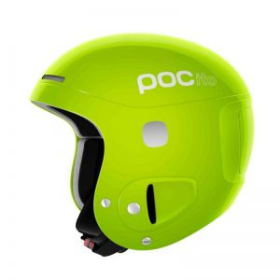 POC POCito SKULL dětská lyžařská helma yellow green 19/20