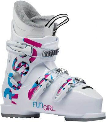 ROSSIGNOL FUN GIRL J3 dětské sjezdové boty white 19/20