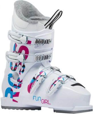 ROSSIGNOL FUN GIRL J4 dětské sjezdové boty white