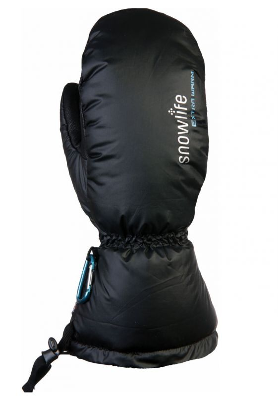 SNOWLIFE BIG DOWN DT palcové rukavice black