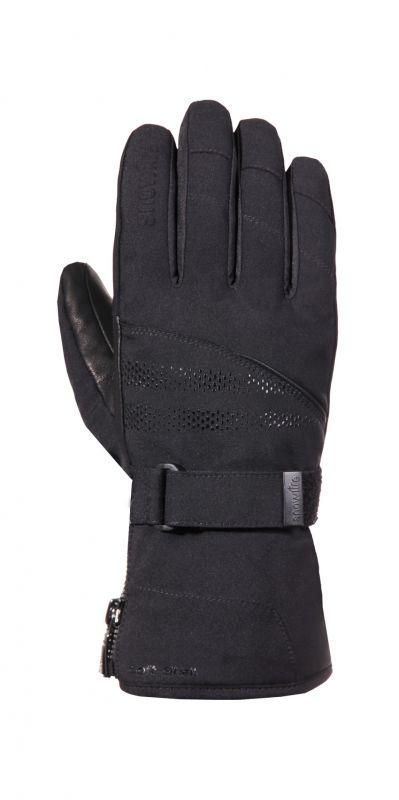 SNOWLIFE NOBLE prstové rukavice black